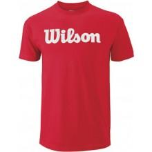 T-SHIRT WILSON SCRIPT COTTON