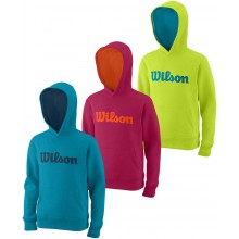 SWEAT WILSON JUNIOR SCRIPT COTON A CAPUCHE