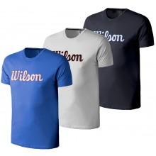T-SHIRT WILSON SCRIPT COTON