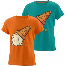 T-SHIRT WILSON JUNIOR FILLE INVERTED CONE