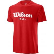 T-SHIRT WILSON PADEL SCRIPT COTON
