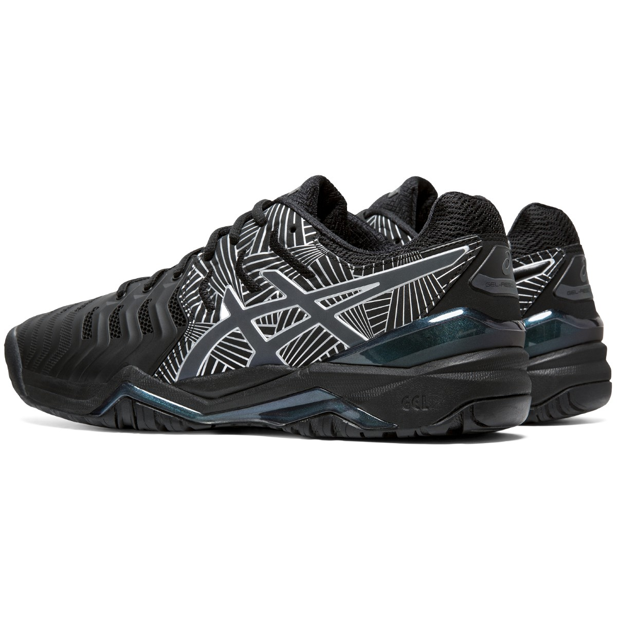 CHAUSSURES ASICS GEL RESOLUTION 7 NYC TOUTES SURFACES