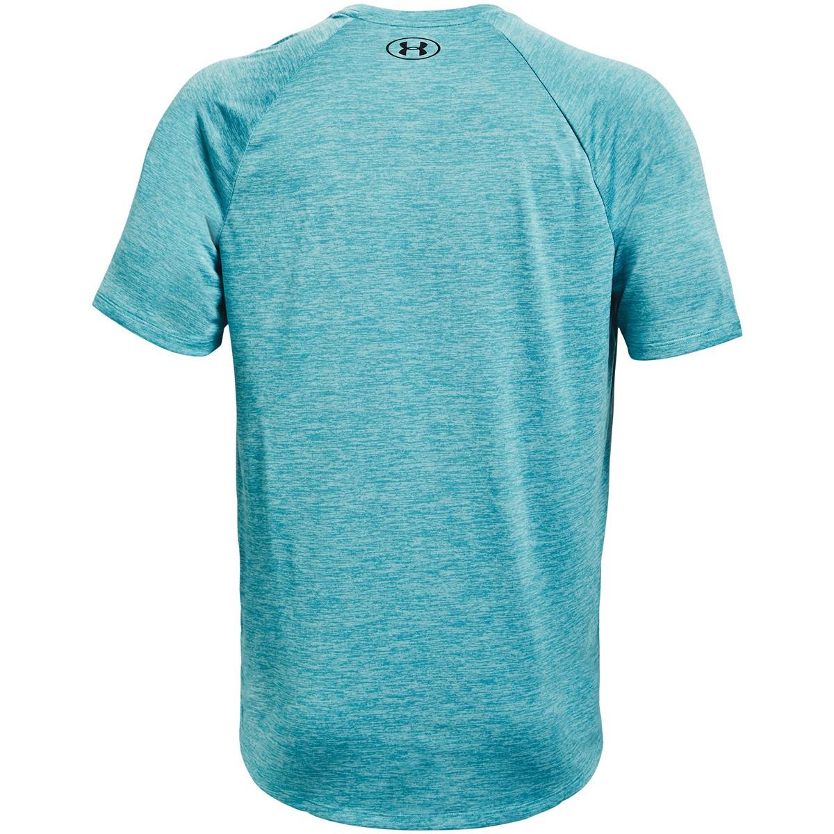 Essence Bleu Under Armour Homme Tech 2.0 V-cou à manches courtes T-shirt