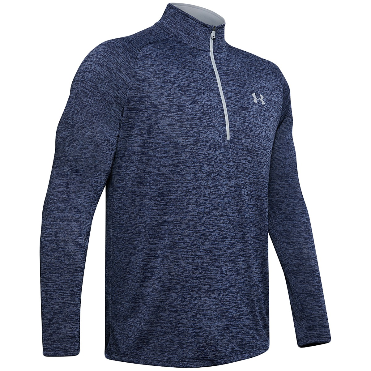 T-SHIRT UNDER ARMOUR MANCHES LONGUES TECH 2.0 1/2 ZIP