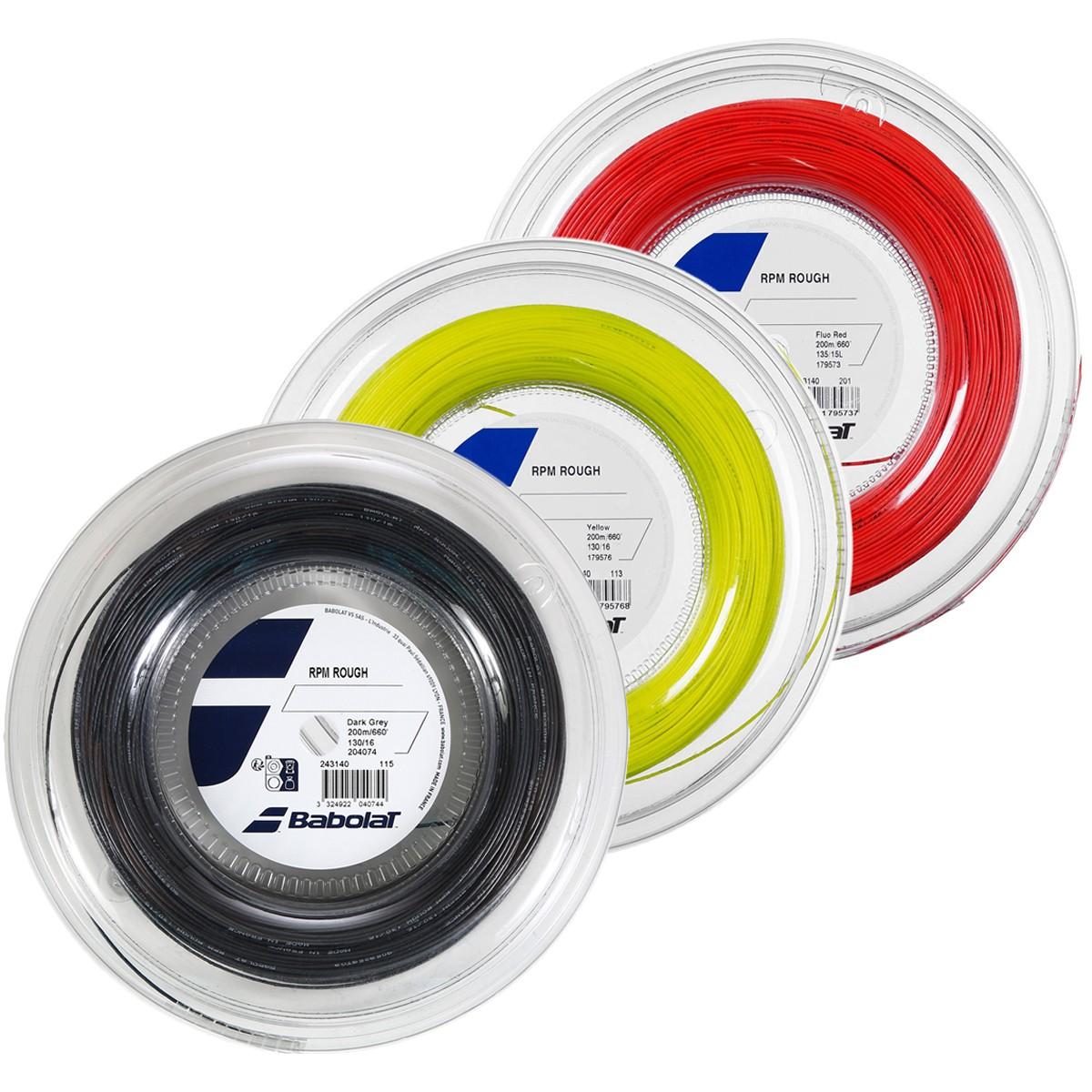 BOBINE BABOLAT RPM ROUGH (200 METRES)