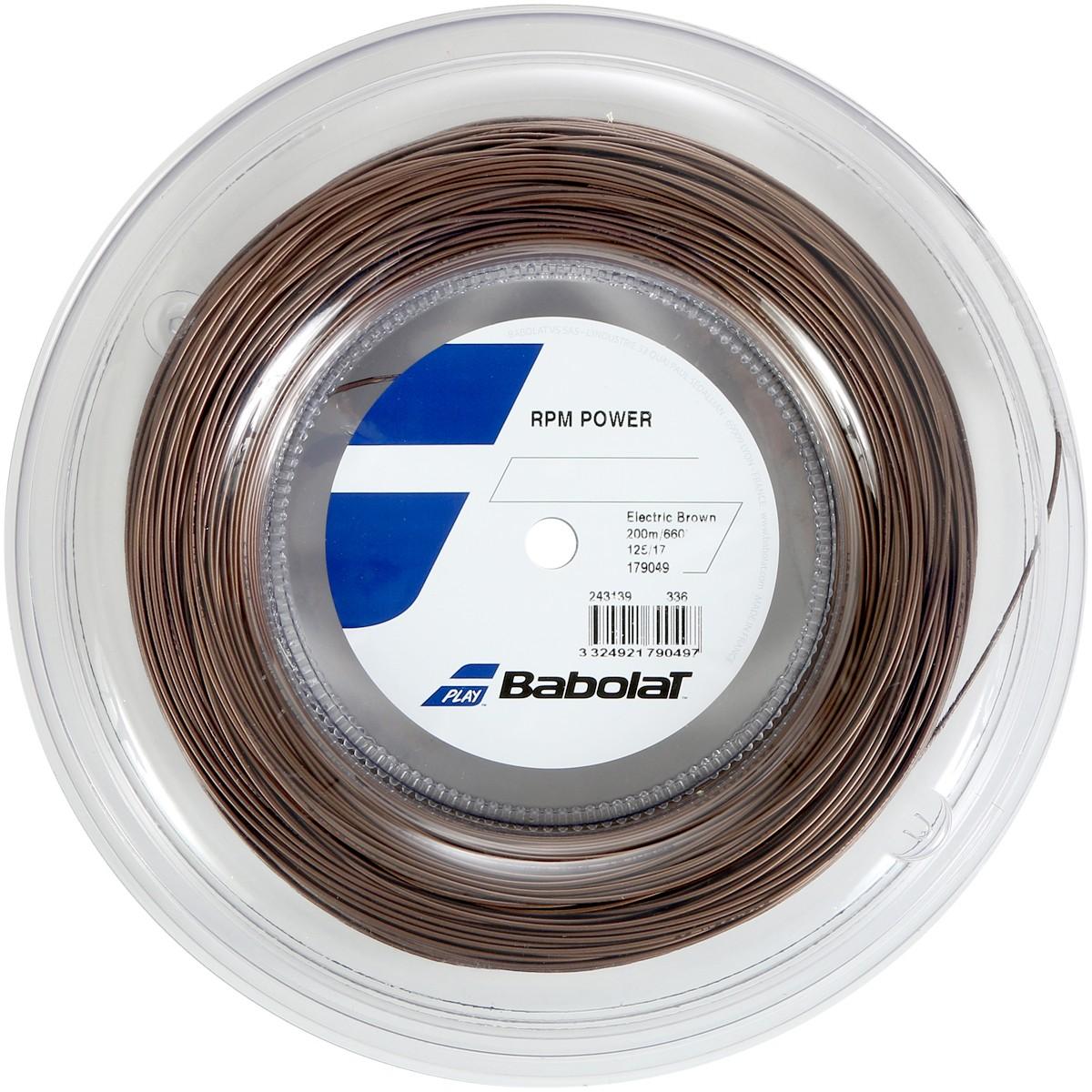 BOBINE BABOLAT RPM POWER (200 METRES)