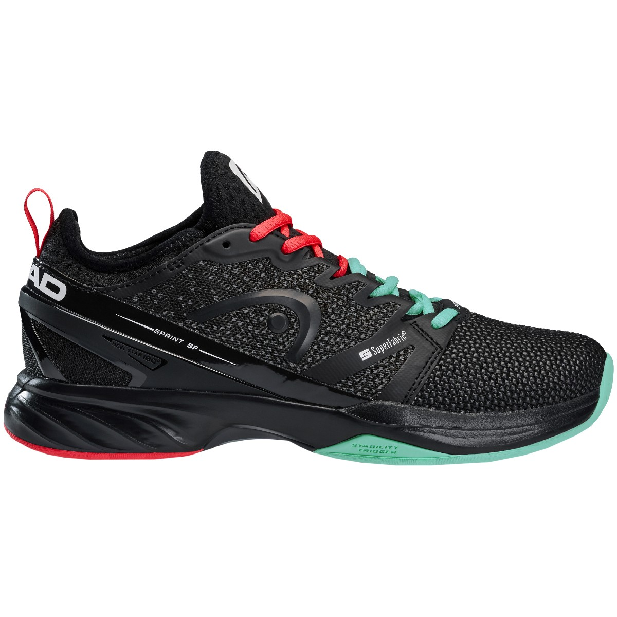 CHAUSSURES HEAD SPRINT SUPERFABRIC TOUTES SURFACES