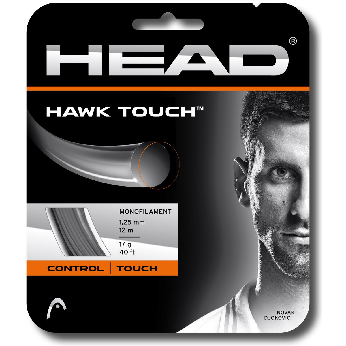 CORDAGE HEAD HAWK TOUCH (12 METRES)