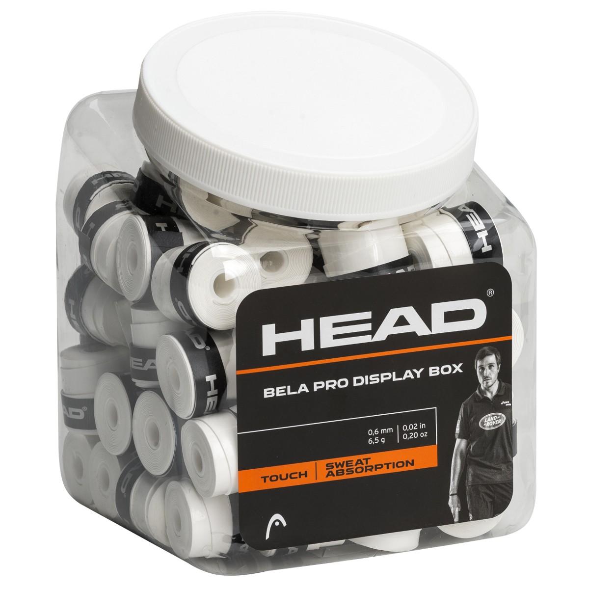 BOITE DE 70 SURGRIPS HEAD BELA DISPLAY