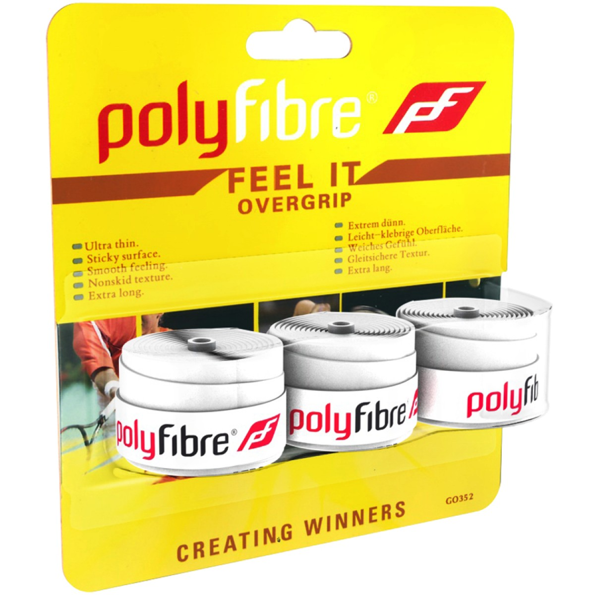 SURGRIPS POLYFIBRE FEEL IT
