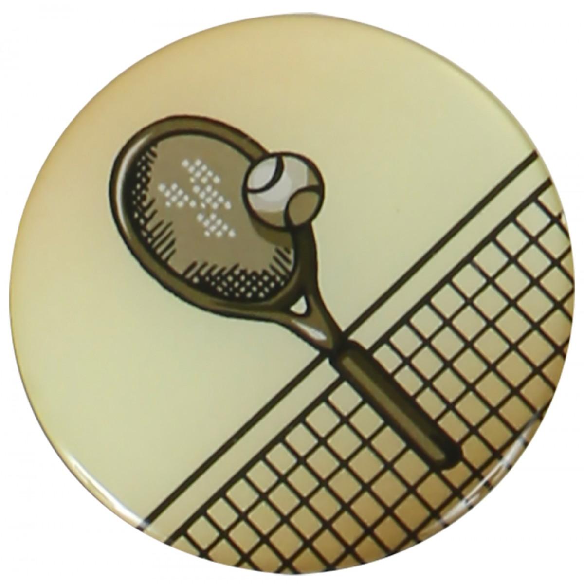PASTILLES MEDAILLE TENNIS (EPOXY - 25MM)