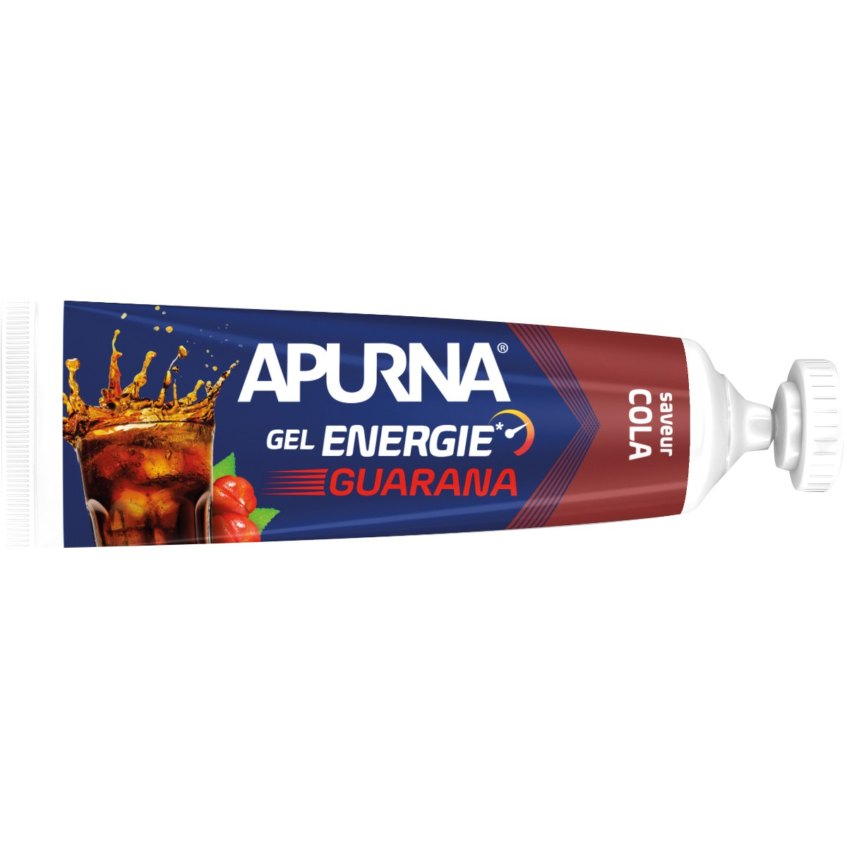 GEL ENERGIE APURNA 35G - PASSAGE DIFFICLE - AROME GUARANA COLA