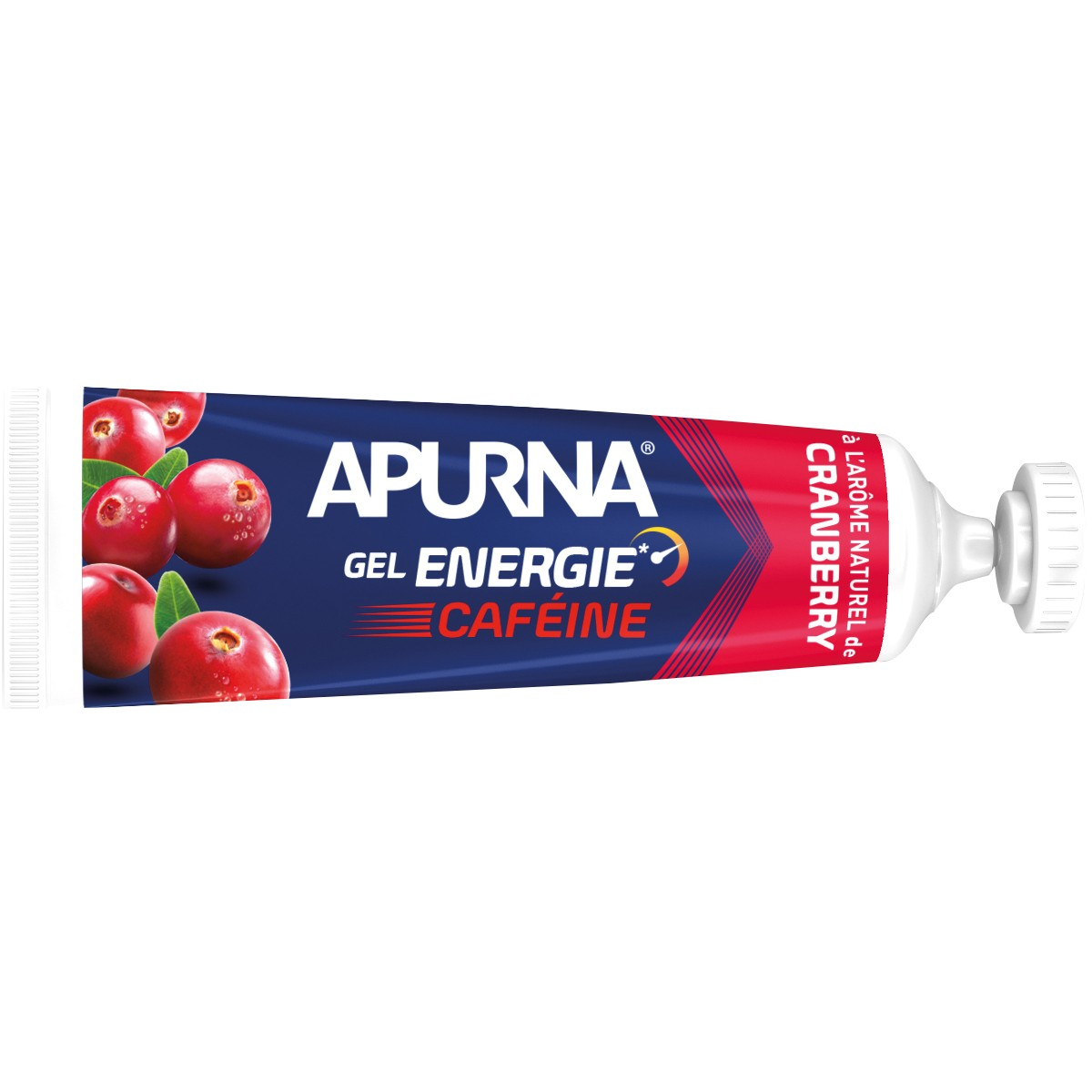 GEL ENERGIE APURNA 35G - PASSAGE DIFFICLE - AROME CAFEINE CRANBERRY