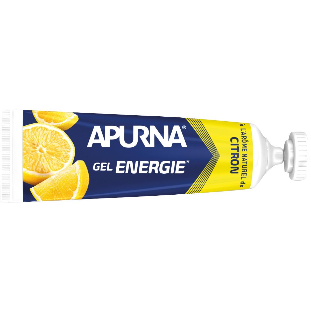 GEL ENERGIE APURNA 35G - 2H D'EFFORT - AROME CITRON
