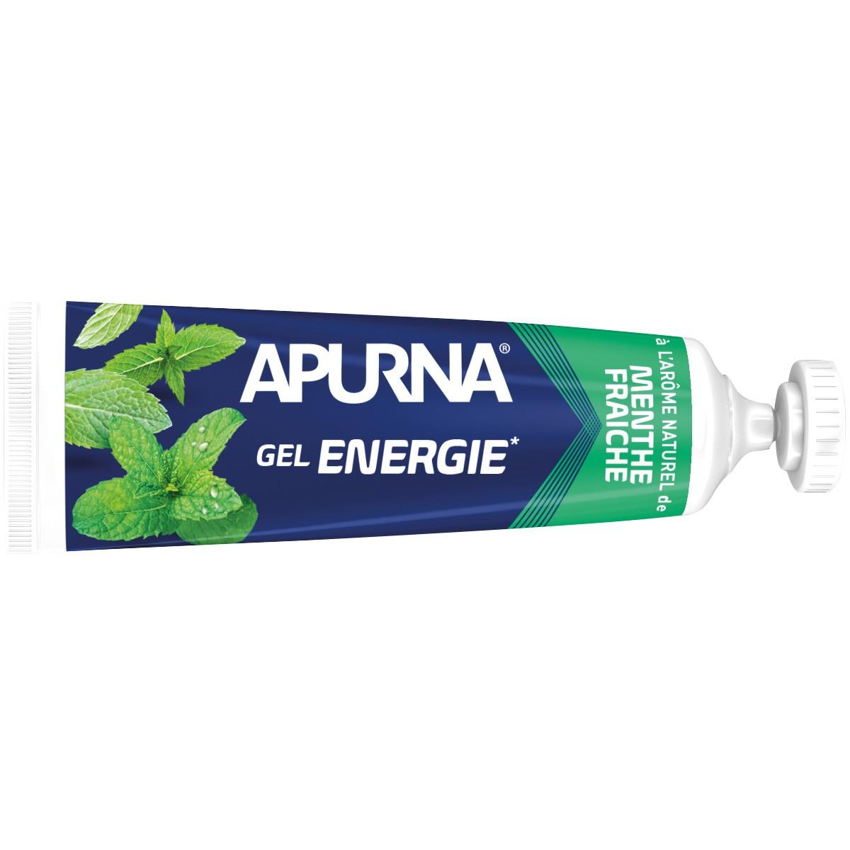 GEL ENERGIE APURNA 35G - 2H D'EFFORT - AROME MENTHE FRAICHE