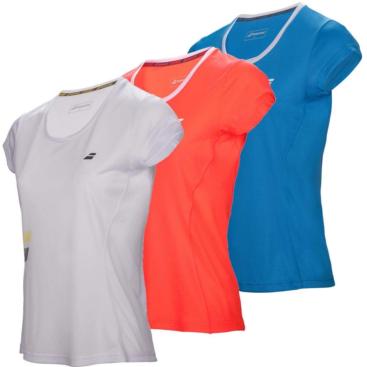 T-SHIRT BABOLAT JUNIOR FILLE FLAG CORE CLUB