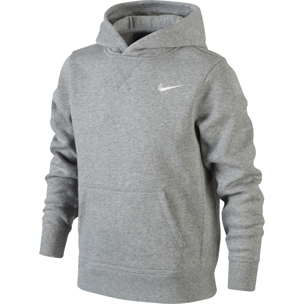 nike junior swet a capuche ya76brushed fleece ref619080-010 12 ans