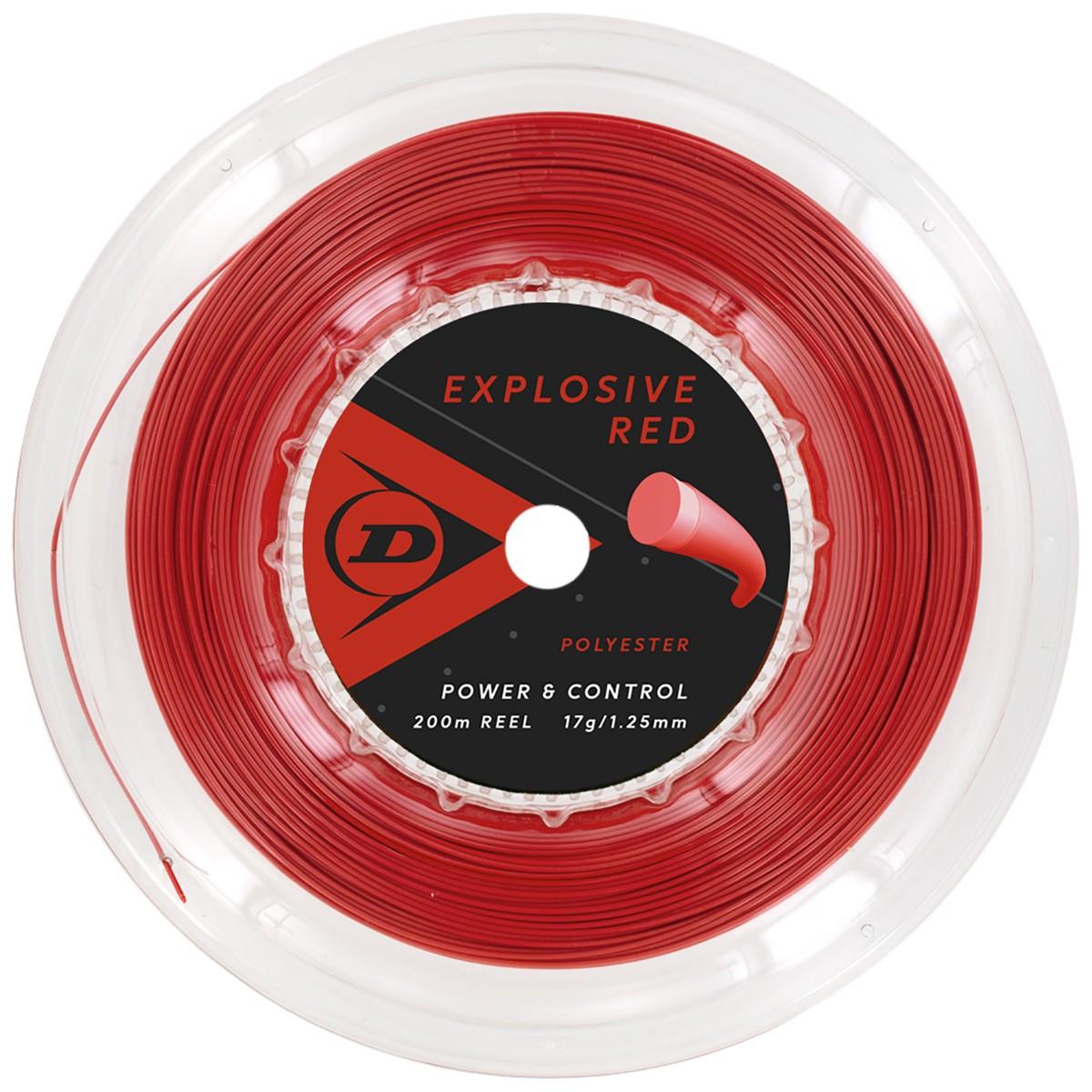 BOBINE DUNLOP EXPLOSIVE RED