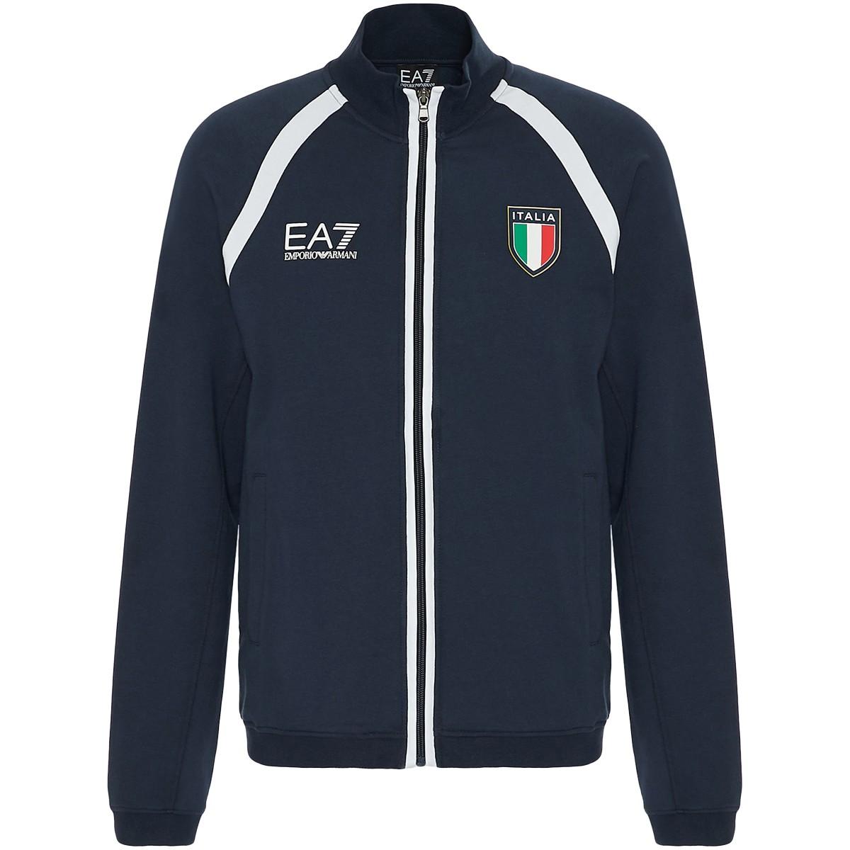 SWEAT EA7 ITALIA TEAM OFFICIAL ZIPPE