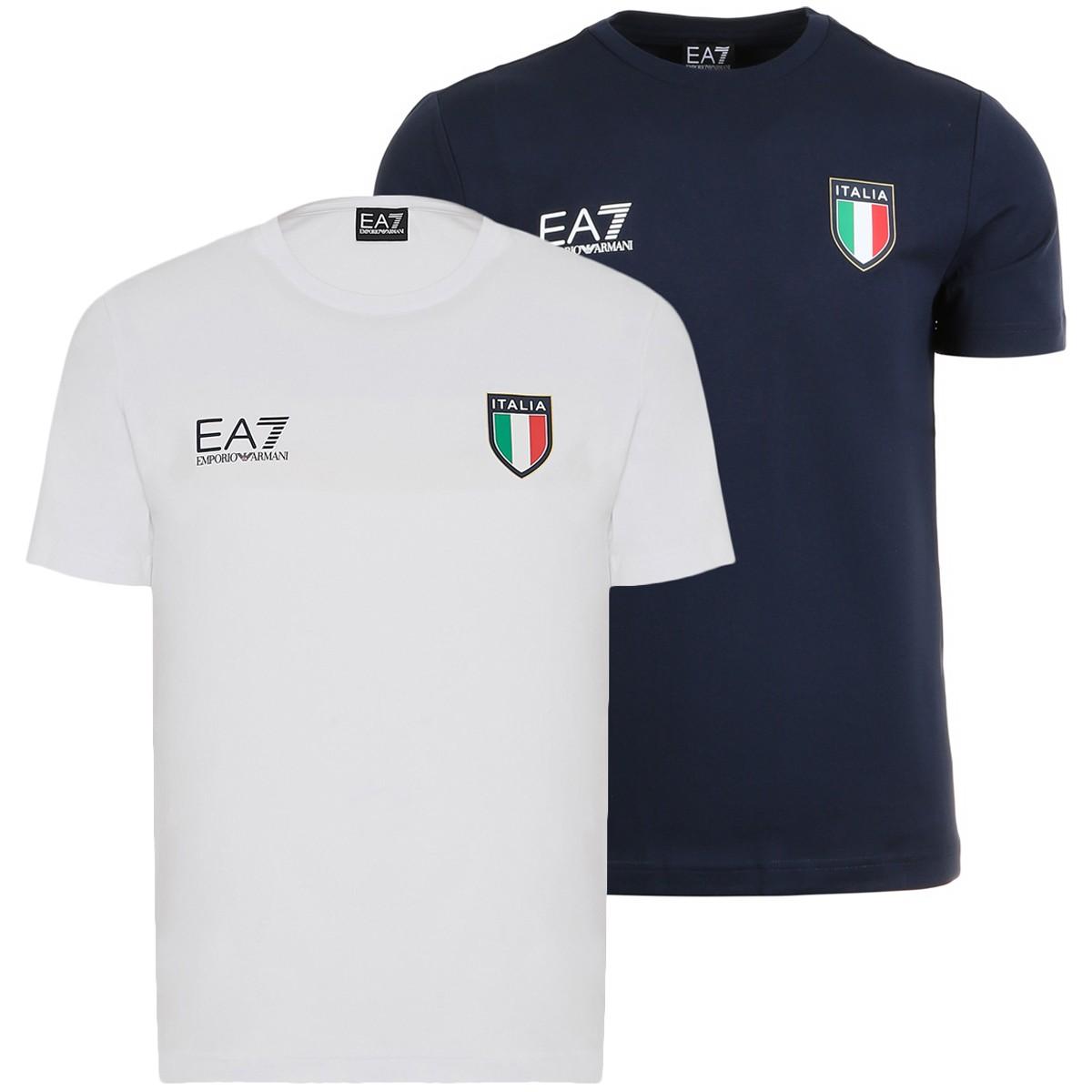 T-SHIRT EA7 ITALIA TEAM OFFICIAL