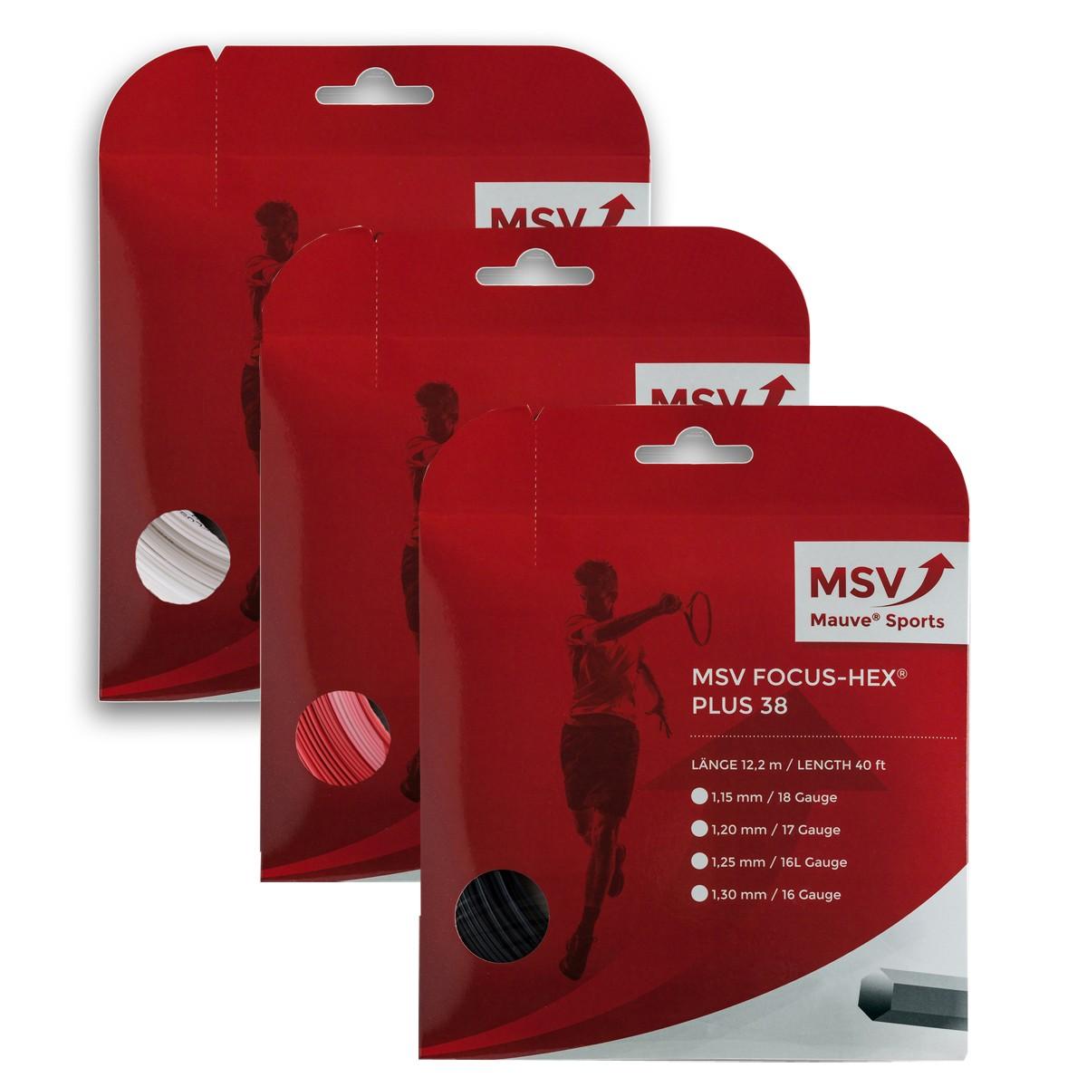 CORDAGE MSV FOCUS HEX PLUS 38 (12METRES)
