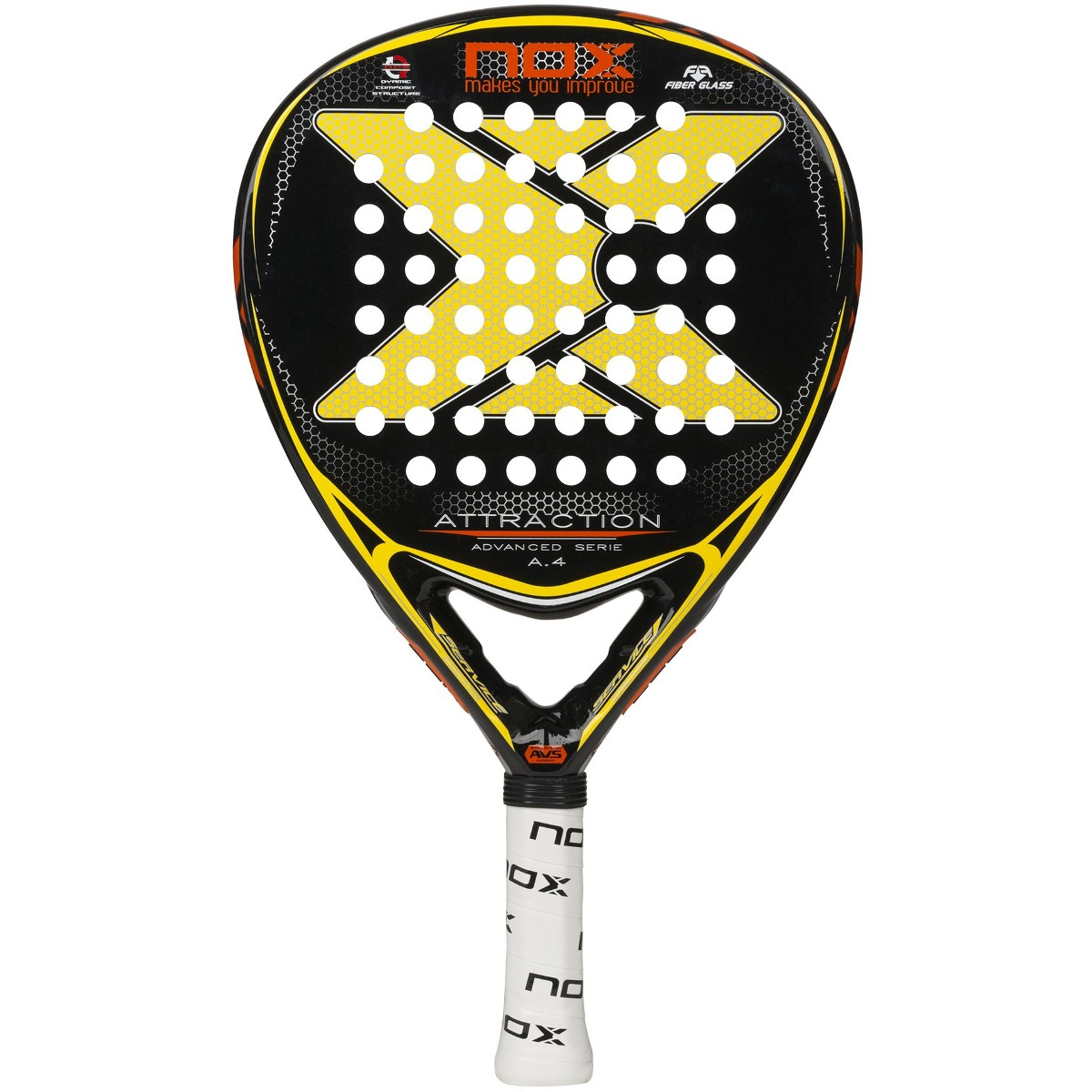 RAQUETTE TEST WEB DE PADEL NOX ATTRACTION A.4