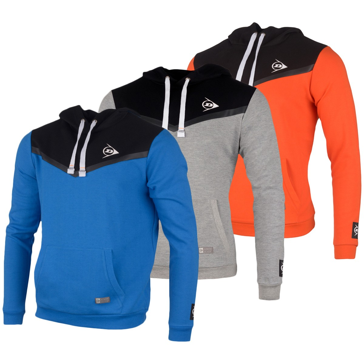 SWEAT A CAPUCHE DUNLOP ESSENTIEL