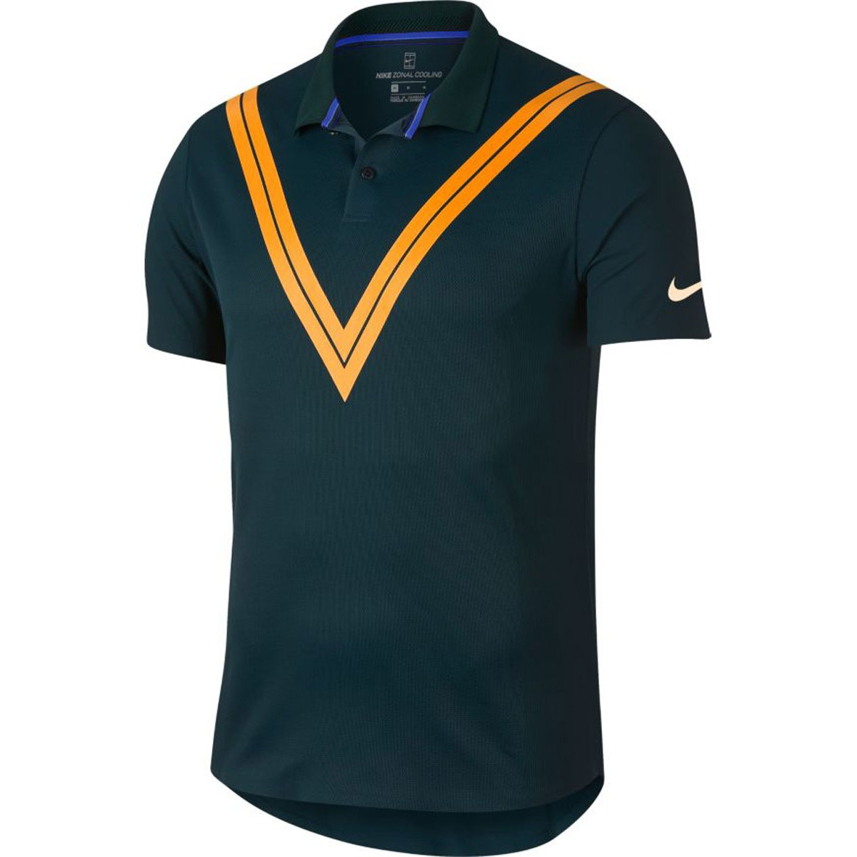 POLO NIKE COURT ADVANTAGE FEDERER US OPEN NUIT