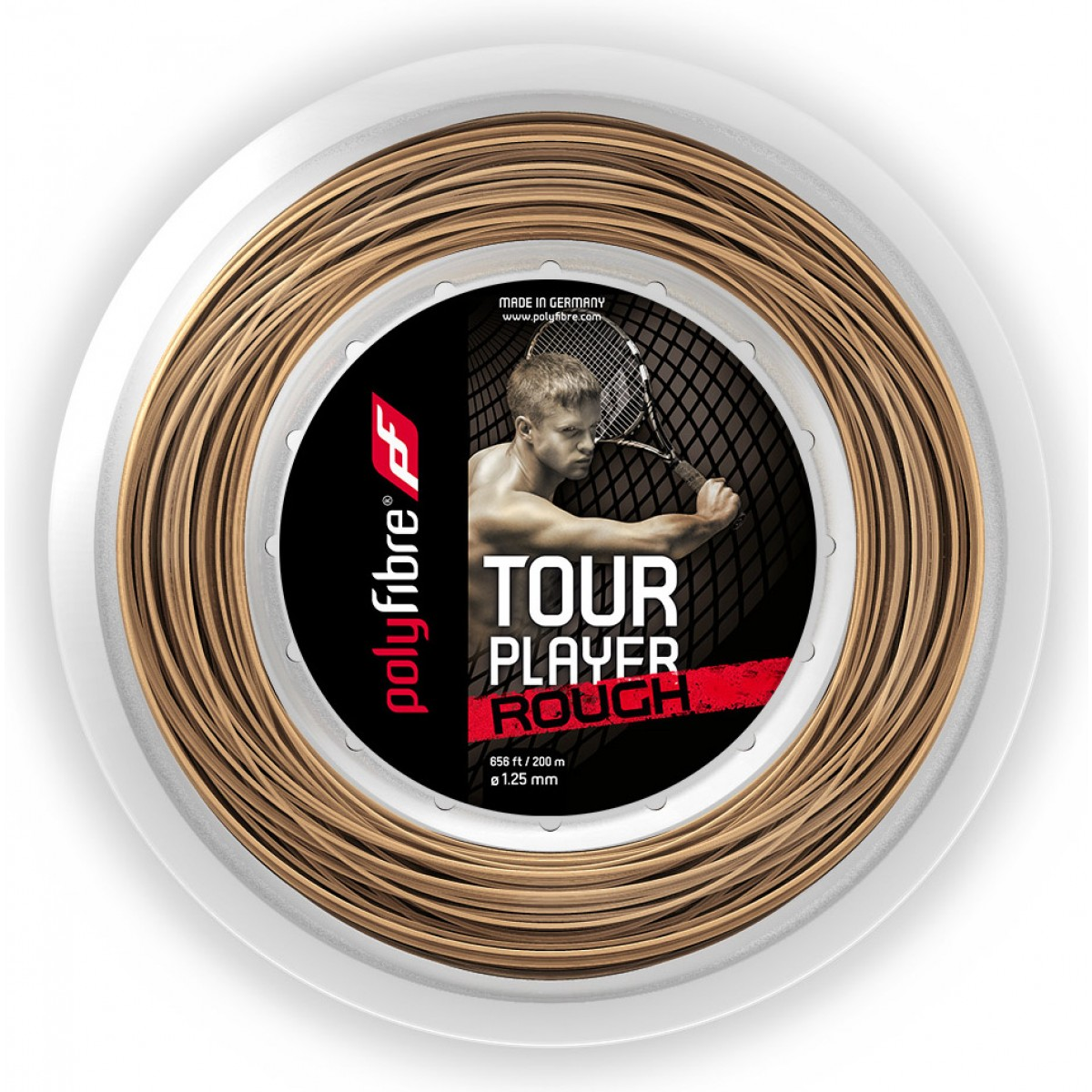 BOBINE POLYFIBRE TOUR PLAYER ROUGH (200 METRES)