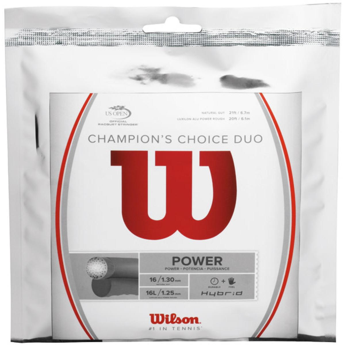 CORDAGE WILSON CHAMPION'S CHOICE DUO