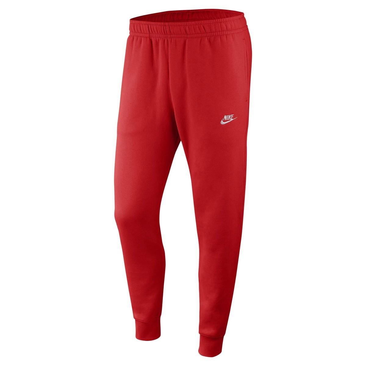 pantalon nike rouge homme