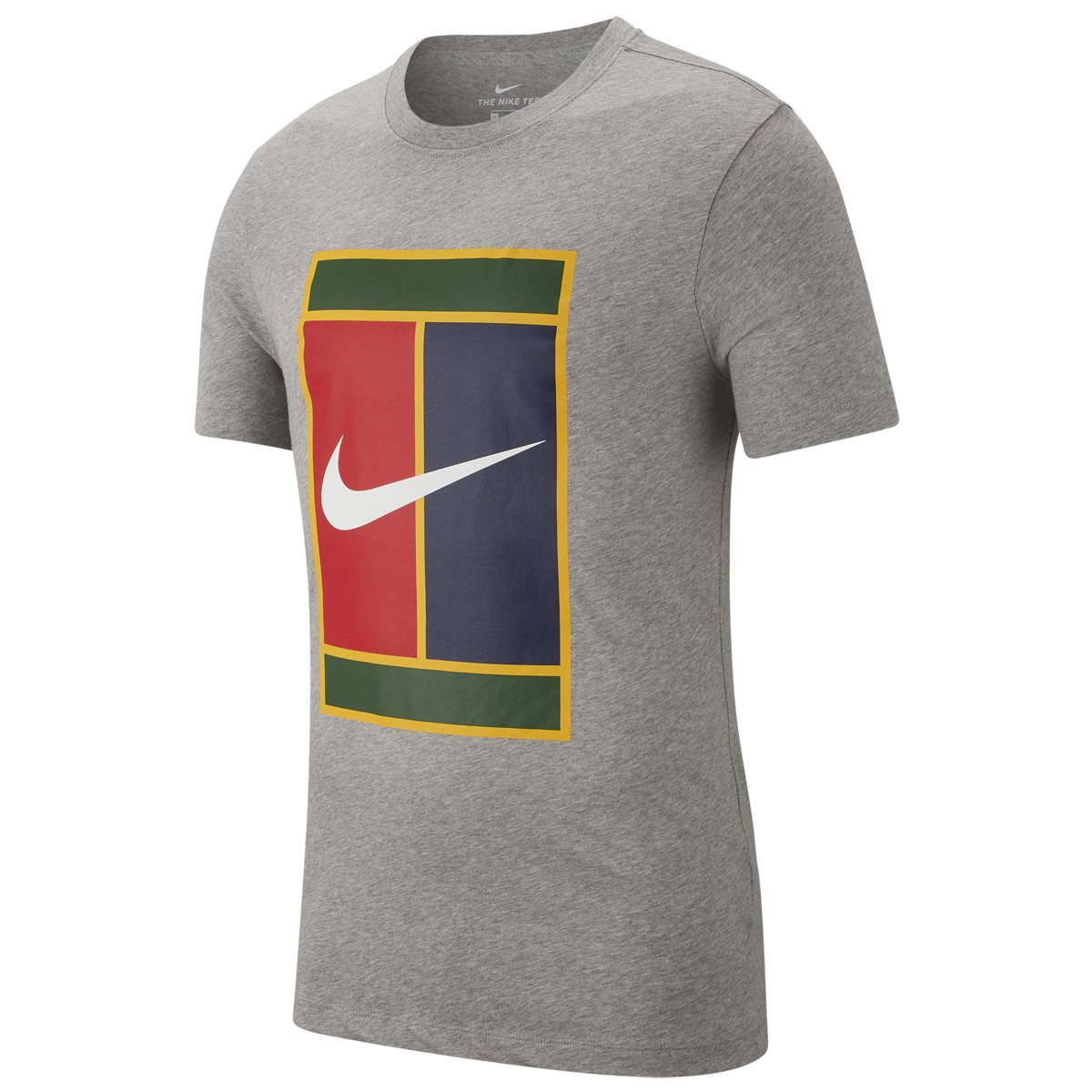 size 40 casual shoes exclusive shoes T-SHIRT NIKE COURT HERITAGE LOGO - NIKE - Homme - Vêtements ...