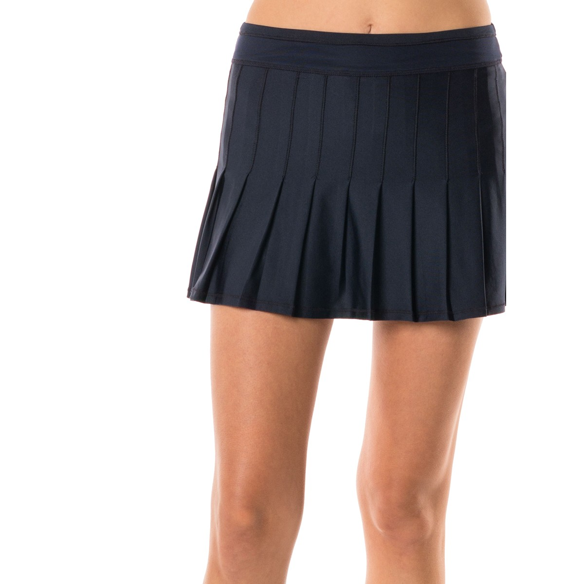JUPE LUCKY IN LOVE LONG RETRO PLEATED