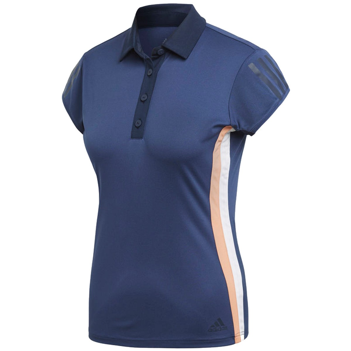 POLO ADIDAS FEMME 3 STRIPES CLUB
