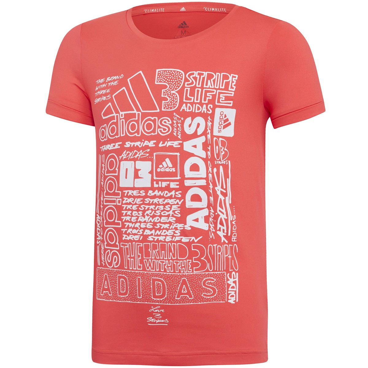 T-SHIRT ADIDAS TRAINING JUNIOR FILLE