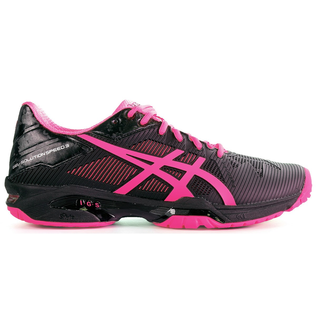 CHAUSSURES ASICS FEMME GEL SOLUTION SPEED 3 TOUTES SURFACES