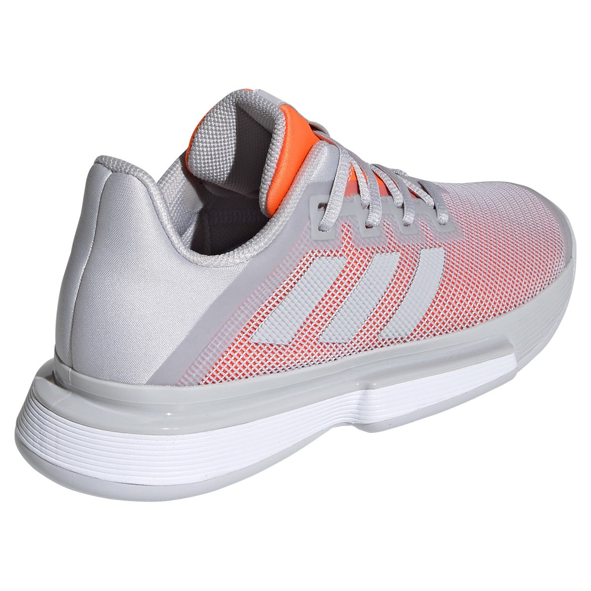 Chaussures Femme adidas SoleMatch Bounce TERRE BATTUE Gris