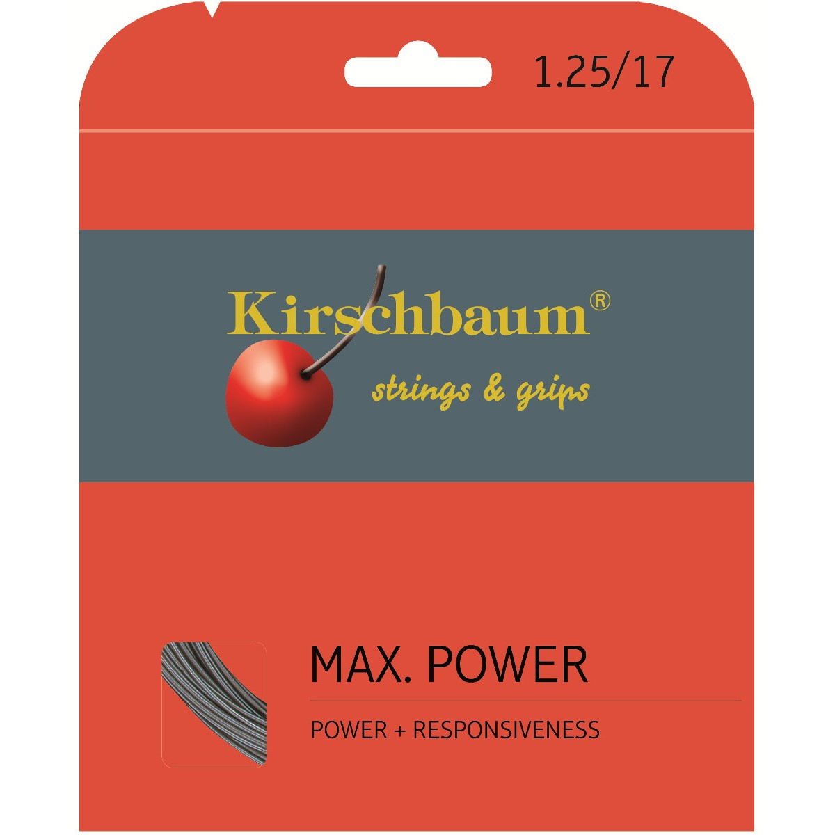 CORDAGE KIRSCHBAUM MAX POWER (12 METRES)