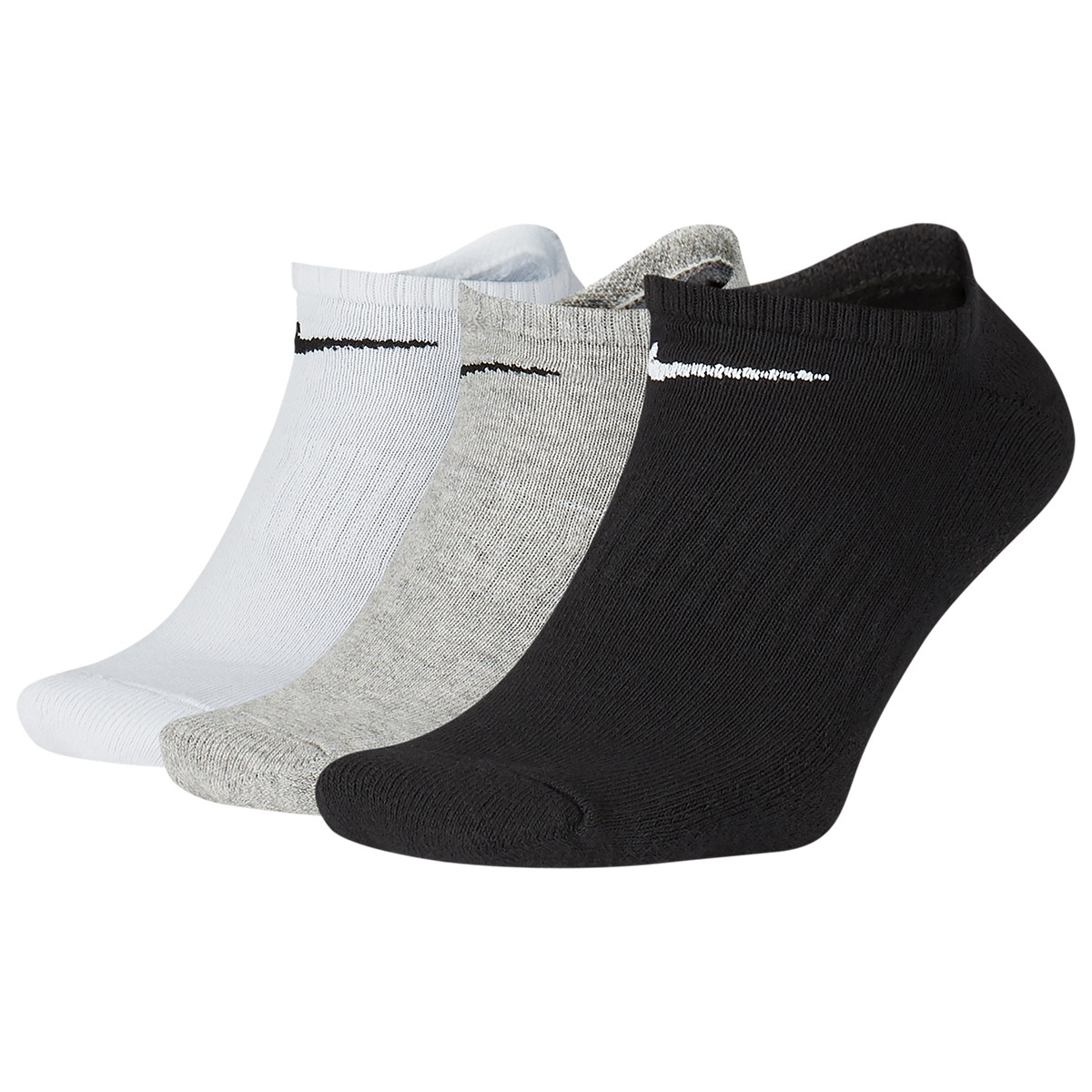 3 PAIRES  DE CHAUSSETTES NIKE CUSHION EVERYDAY EXTRA-BASSES