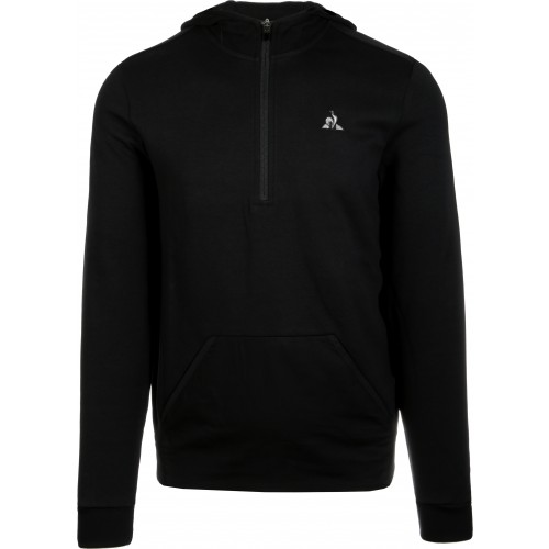 SWEAT  1/2 ZIP A CAPUCHE TECH N°1