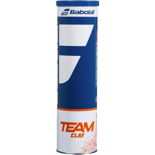 TUBE DE 4 BALLES  TEAM CLAY
