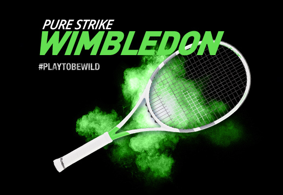 Raquettes Babolat Pure Strike Wimbledon