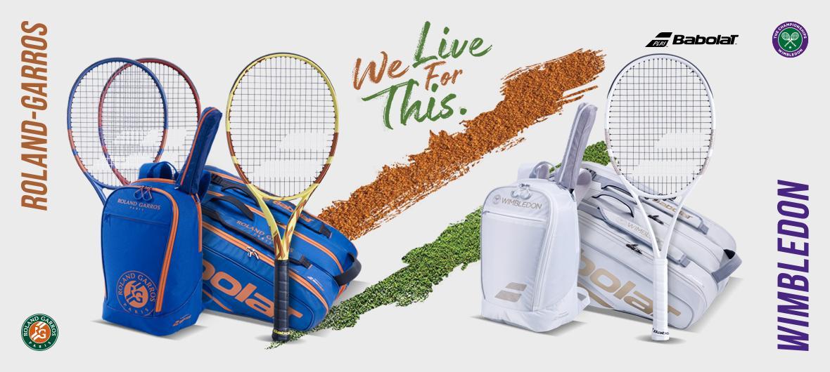 Babolat Roland Garros et Wimbledon
