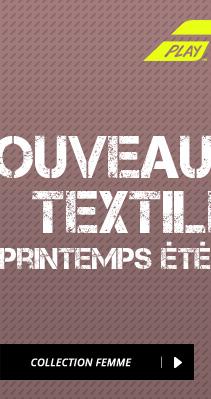 Nouveautés Textile 2016