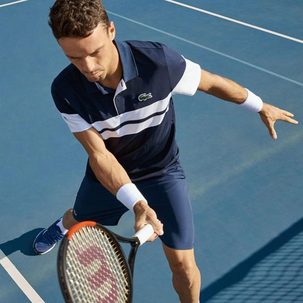 4790e46712b Respecting the tenacity, fair play and team spirit of those men and women  who support Lacoste, the brand meets the requirements of champions with  style and ...