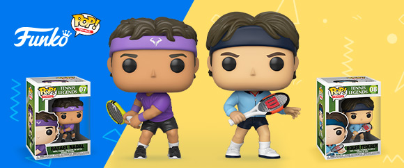 FIGURINES FUNKO POP : TENNIS LEGENDS